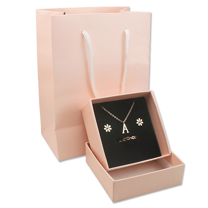 Us 15 0 New Arrival High Quality Gift Box Packaging For Jewelry Set Including The Boxes And Bag Jewelry Display Lot Of 6 Pieces In Jewelry Packaging