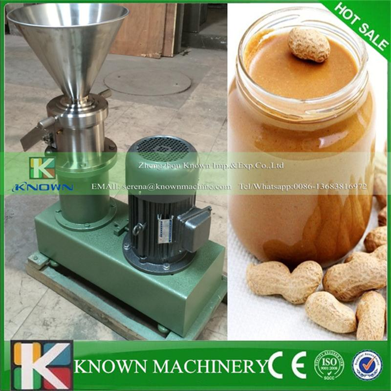 Commercia Adopting the latest technology of wet particle processing food industry peanut sesame seeds grinder colloid mill