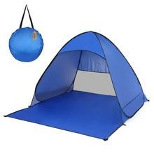 Automático pop up barraca de acampamento ao ar livre barraca viagem ultraleve uv à prova dultralight água sun shelter praia chuveiro barracas wc para a pesca