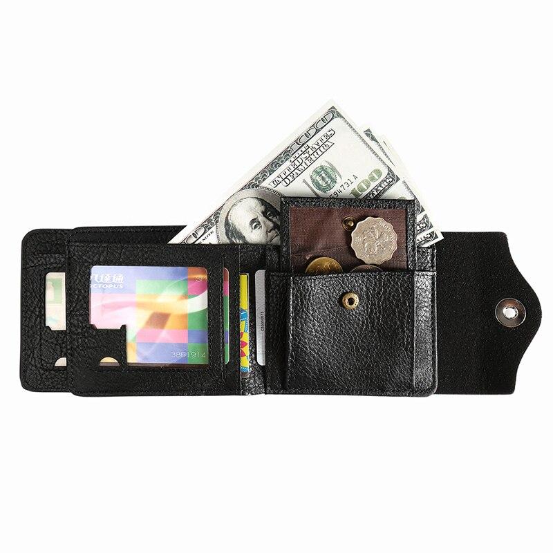 Чоловіки Hasp гаманець шкіряний - Гаманці та портмоне - фото 4