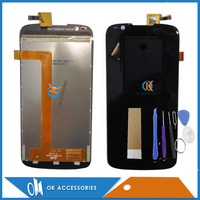 Black Color For Fly IQ4413 LCD Display Touch Screen Digitizer Assembly High Quality 1PC Lot