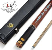 New Luxurious LP One Piece Snooker Cue For Competition High-end Handmade Durable Billiard Kit Stick with Case for Player