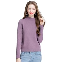 10 Colors High Quality Brand Sweater Women Knitted Sweater Solid Color Sweaters For Women Slim Turtleneck