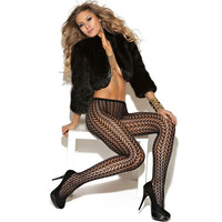 Elastic Women Gauze Tights Fashion Sexy Fishnet Velvet Pantyhose Bottom Home Lounge Wear 79547