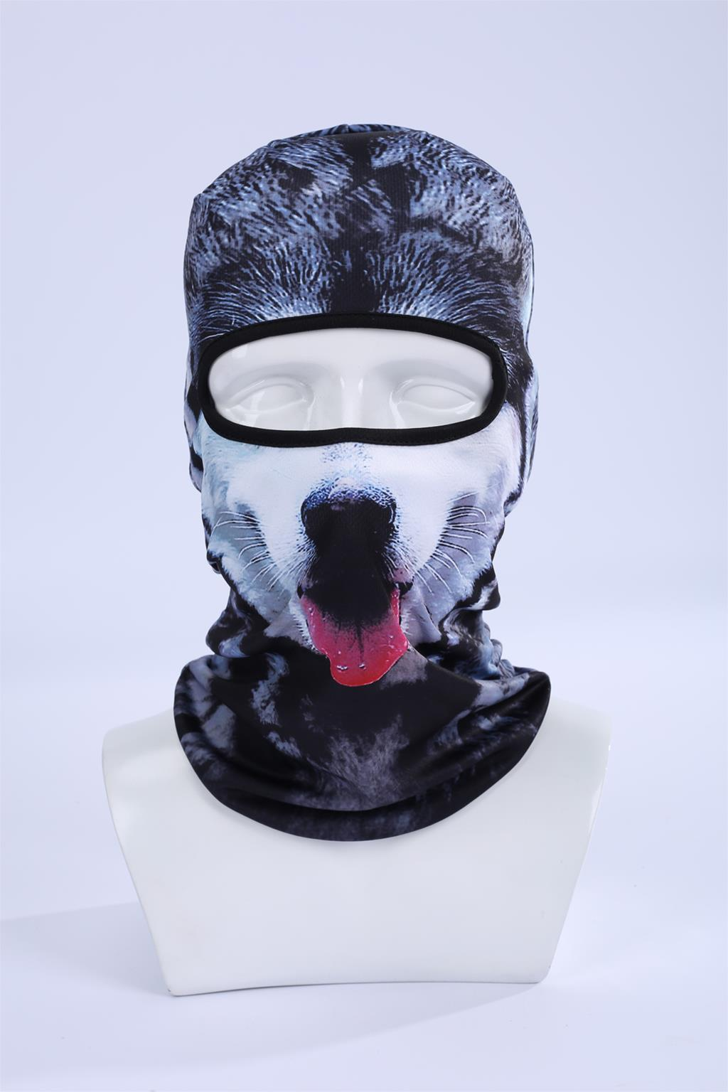 Hot Sale 2017 Cool ! 3d Dog Animal Ski Hood Hat Balaclava Full Face Mask Outdoor Sports Bicycle Cycling Ski Masks Bbb06 women beanie new hot sale 3d zebra animal hood hat balaclava full face mask outdoor sports bicycle cycling ski motorcycle masks
