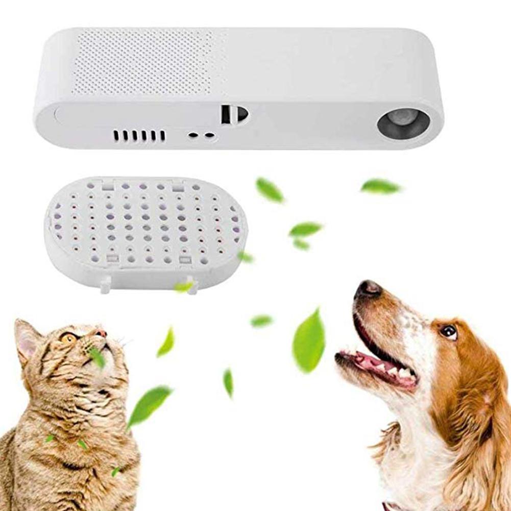 TPFOCUS purificateur d'air Intelligent éliminateur d'odeur pour animaux de compagnie chats chiens stérilisation intérieure (sans batterie)