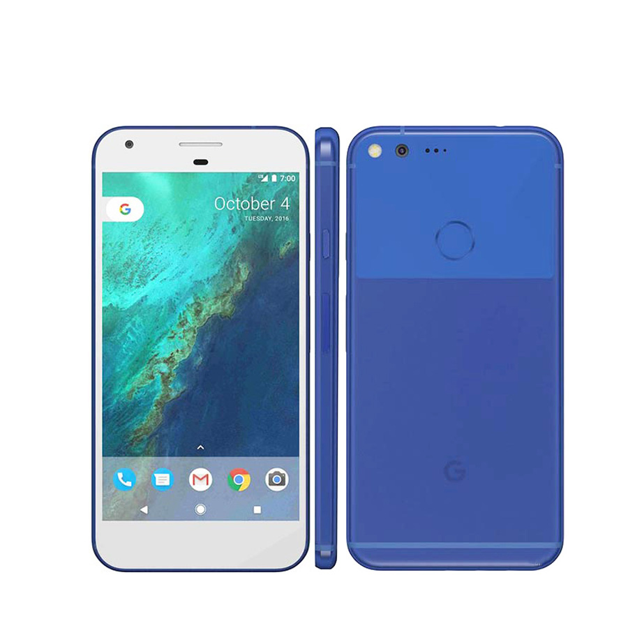 Nuevo Google Pixel XL versión de EE. UU. 4G teléfono móvil 5,5 ''4 GB RAM 32 GB/128GB ROM Snapdragon Quad Core Android huella digital teléfono inteligente 50leds 12mm WS2811 2811 IC Color píxeles de módulo LED luz DC5V IP68 RGB impermeable Digital de color luz LED del Pixel