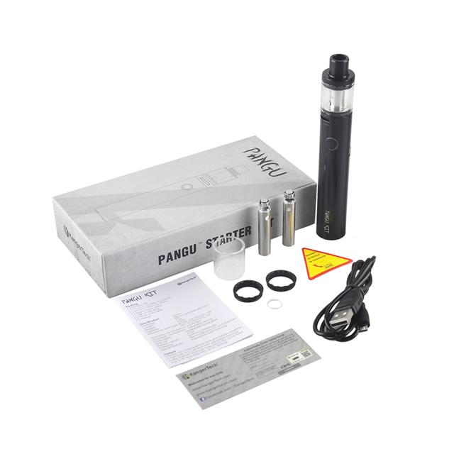 Pangu Original Kang Starter Kit 2500 mAh Batería Con 3.5 ml Capacidad de Llenado Superior Atomizador Tanque