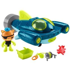 Image 2 - Spedizione gratuita originale Octonauts GUP Q e Kwazii veicolo in mare explorer veicolo action figure giocattolo bambino Giocattoli
