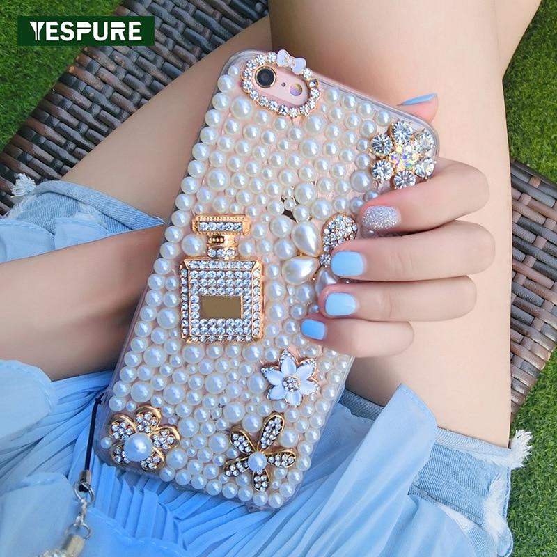 YESPURE 360 Protect Case för Iphone 7 Plus Mobiltelefon Shell Pearl - Reservdelar och tillbehör för mobiltelefoner