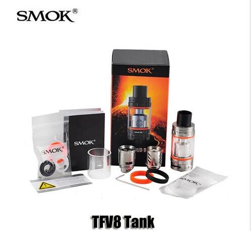 Original Smok Tanque Atomizador 6.0 ml Nube Bestia Mejor Con T8-V8 TFV8 T8-Q4 Cabeza Bobina smok tfv8