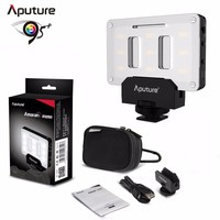 Aputure Amaran AL M9 Pocket Size Rechargeable LED Video Fill Light CRI TLCI 95+ CTO CTB Gel Filter for SLR Camera DV Camcorder
