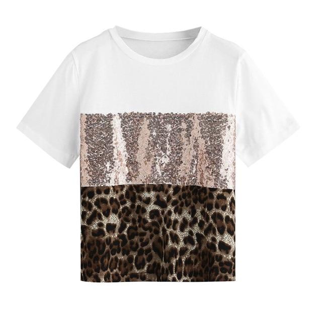 Pacthwork Leopard Print...