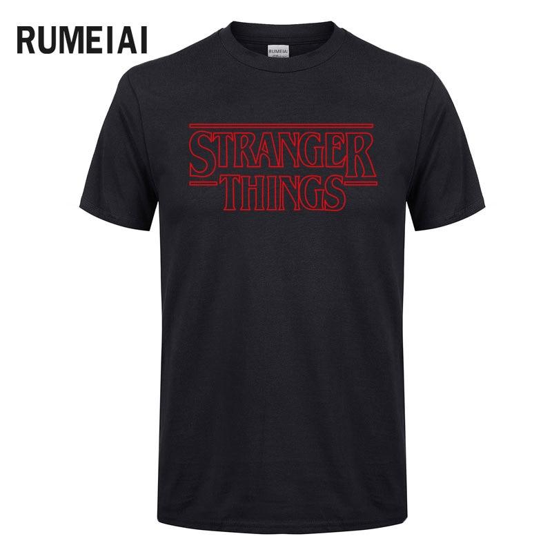 mens   t     shirts   fashion Stranger Things Men   T     Shirt   Summer Cotton Short Sleeve Men Fashion   Shirt   Tops Tees Men's   T  -  shirt   XS-XXL