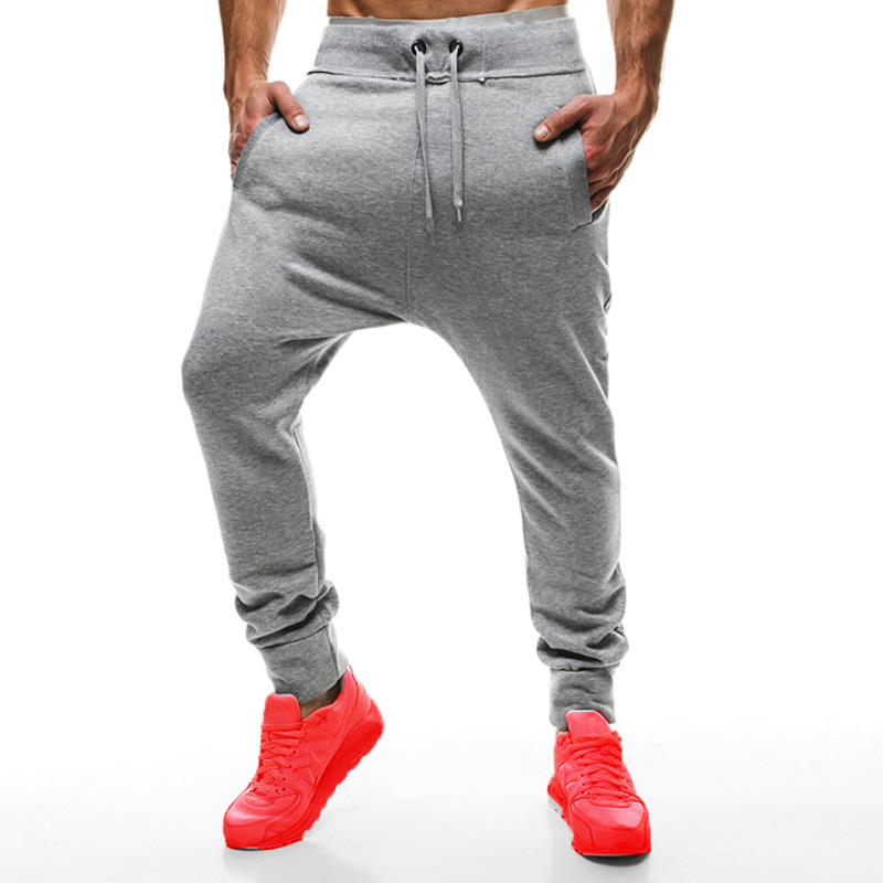 INCERUN Men Casual Solid Sweatpants 2018 New Stylish Tracksuit Trousers Sweats Pants Workout Pants Male Trousers Clothing