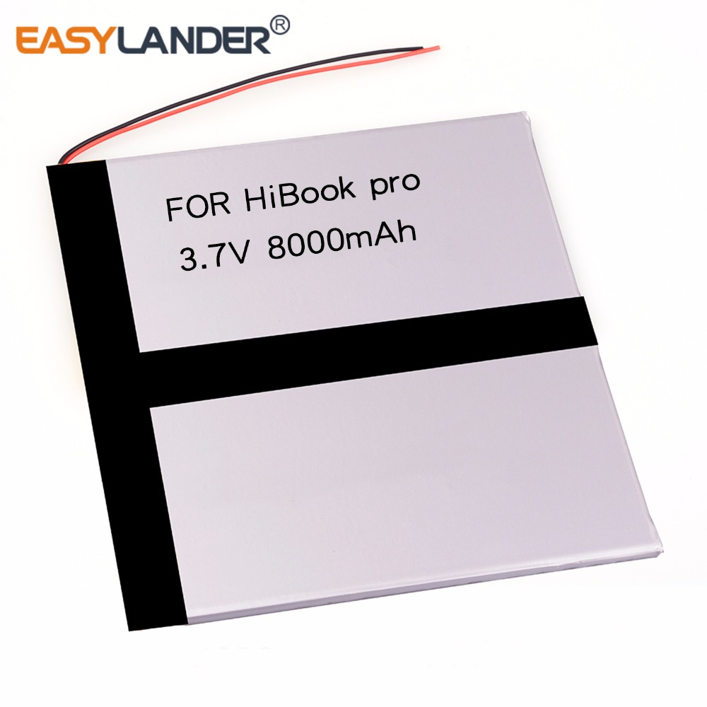 3.7V 8000mAh Rechargeable Li-Polymer Battery For Tablet PC CHUWI HiBook PRO 10.1 Inches Hibook 10 Pro HI10 Pro CWI526