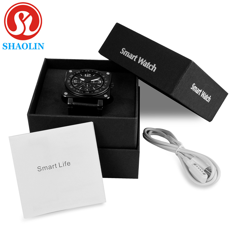 ФОТО New Smart Watch US18 Smartwatch for IOS Android Phone Heart Rate Monitor Fitness Tracker Smart Watch Android Wearable Devices
