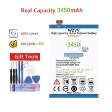 wzvv Real 3450mAh Li-Polymer Battery C11P1424 For Asus Zenfone 2 ZE551ML ZE550ML 5.5inch Z00AD Z00ADB Z00A Z008D Batteries чехол epik яркий с абстракцией для zenfone 2 ze551ml ze550ml