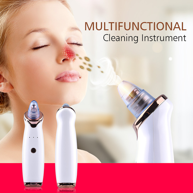Blackhead Remover Face Deep Cleaner Pore Acne Pimple Removal Vacuum Suction Facial Diamond Beauty Clean Skin Care SPA Tool 2