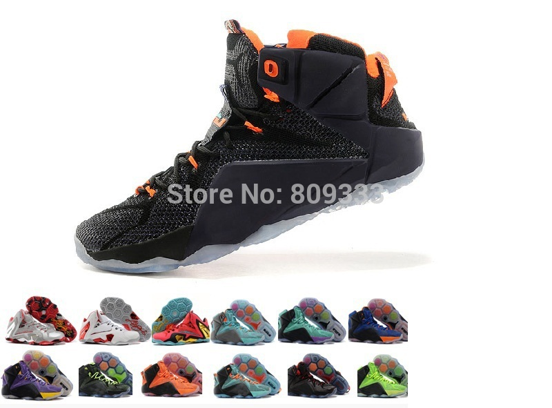 30color free shipping 2015 new brand shoes lebronnn 12