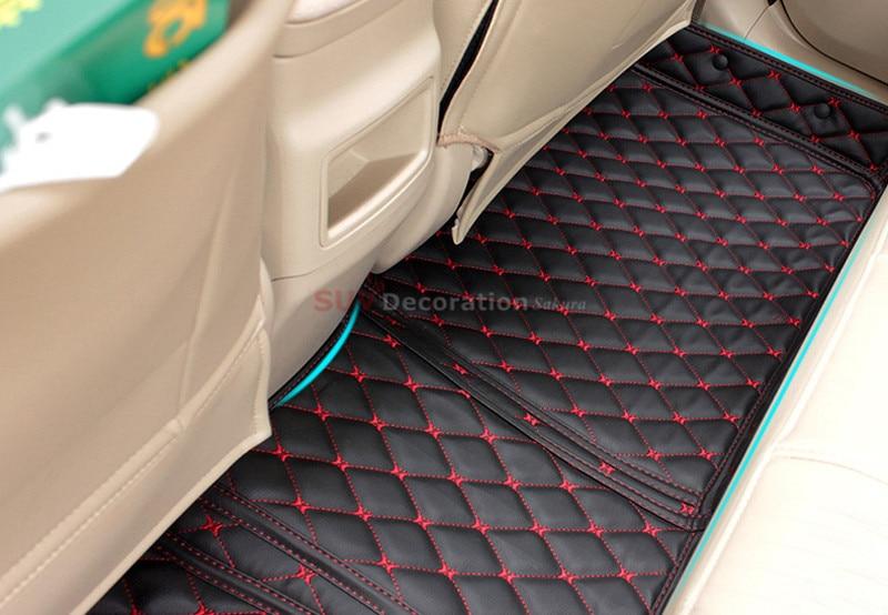 Pour Toyota Corolla 2004-2007 Tapis De Sol Du Pied Pad Intérieure Auto En Cuir Tapis Accessoires