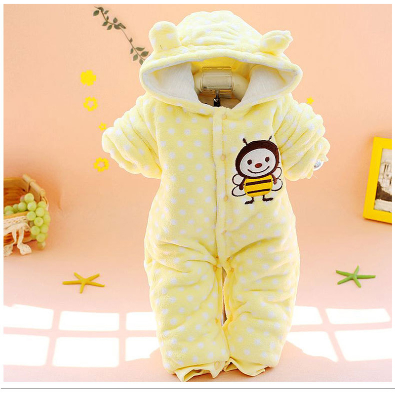 2018 Baby Flannel Costumes Boys Clothes Cartoon Animal Jumpsuits Fleece Infant Baby Romper Newborn Cartoon Infant Clothes H35 autumn baby clothes flannel baby boys clothes newborn fleece animal girls jumpsuit hooded toddler cute bear romper baby costumes
