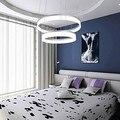 Светодиодные современные подвесные мини-светильники  светодиодные потолочные лампы с 2 кольцами  100-240 В