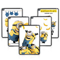 Batianda New Printing Minions Pattern Tablet Case Hard Shell for Apple iPad air 2 Back Cover