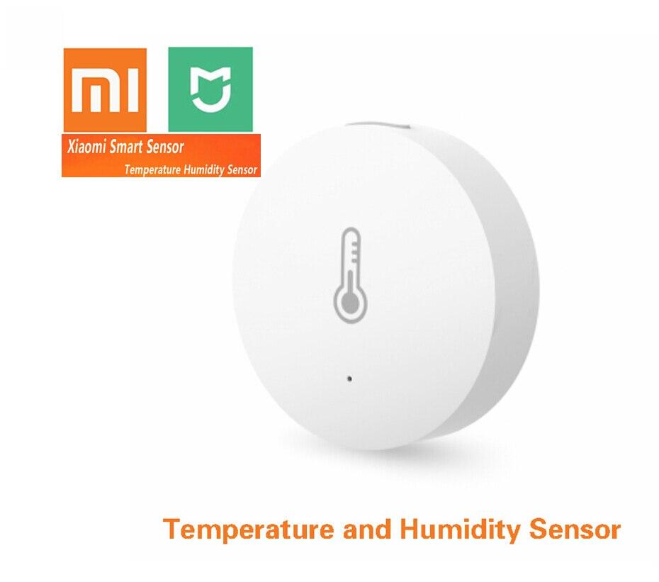 Xiao mi mi inteligente temperatura e hu mi dity sensor colocar o bebê escritório em casa trabalho com android ios mi casa app