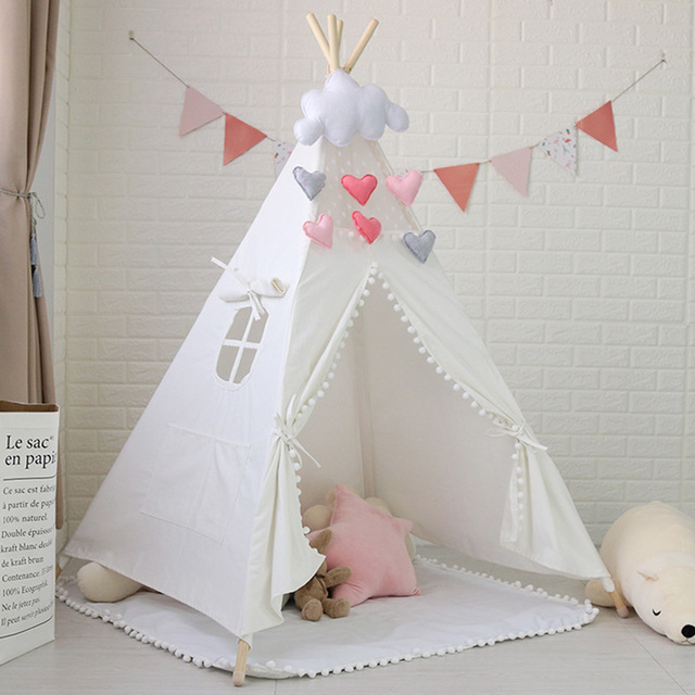 US $80 07 9% OFF| PomPom Teepee,Indian Teepee,Kids Tipi,Tipi Tent,Tipi for  Sale-in Toy Tents from Toys & Hobbies on Aliexpress com | Alibaba Group