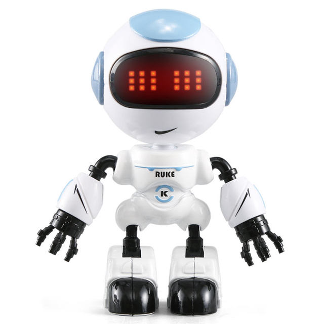 JJRC-R8-RUKE-R9-Ruby-Touch-Control-DIY-Gesture-Mini-Smart-Voiced-Alloy-Robot-Toy-RC