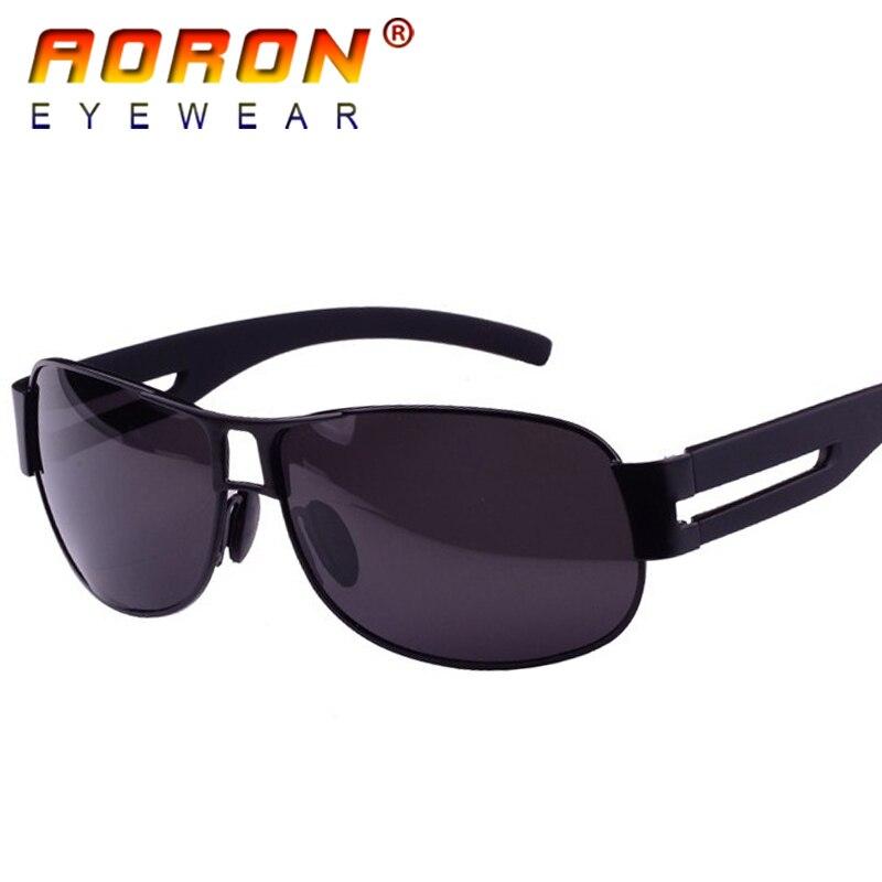 0acd86ff6 2018 Aoron الأزياء مصمم النظارات الشمسية استحضار مكبر للصوت العلامة  التجارية الرجال القيادة نظارات طلاء الاستقطاب النظارات الشمسية نظارات