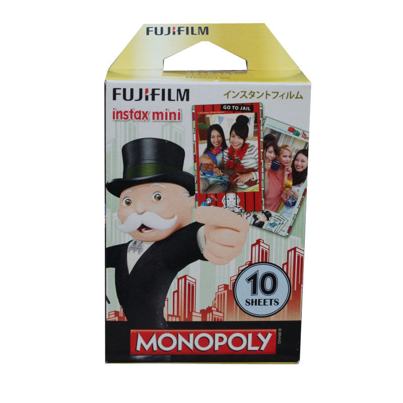 Original new design Fujifilm Instant Instax Mini 8 9 film (10 sheets) for Camera Instant mini 7s 9 25 50s 90 Share SP-1 Printer