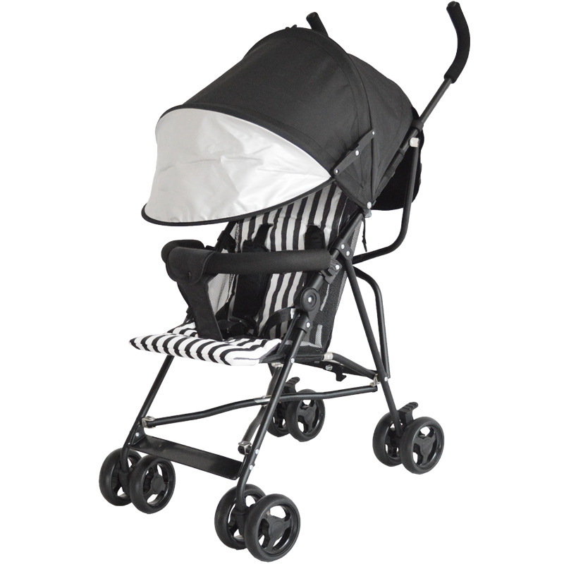 YOYA PLUS poussette enfants Ultra léger Portable s'asseoir été ombre Simple pliant bébé poussette bébé à quatre roues parapluie