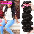 Ms Here Hair Company Body Wave Brazilian Hair 4 Bundles Brazillian Virgin Hair Body Wave 4Pcs Lot Wet And Wavy Hair Weaving Uk