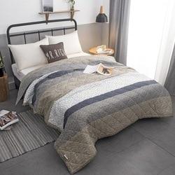2017 nowy koc pokrywa pikowania pocieszyciel łóżko letnia kołdra tekstylia domowe nadaje się dla dzieci dla dzieci mężczyzn dorosłych 22 w Kołdry od Dom i ogród na