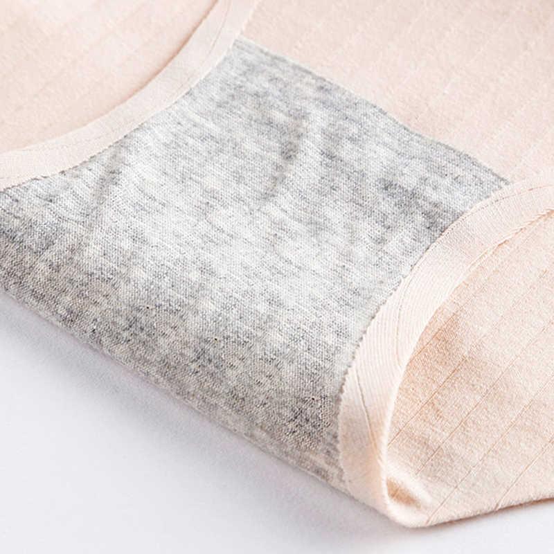 แฟชั่นกางเกงไม่มีรอยต่อสำหรับกางเกงผู้หญิงชุด Ultra-thin ชุดชั้นในกางเกงขาสั้นผ้าฝ้าย XXL 3 ชิ้น/ล็อต DROP # D