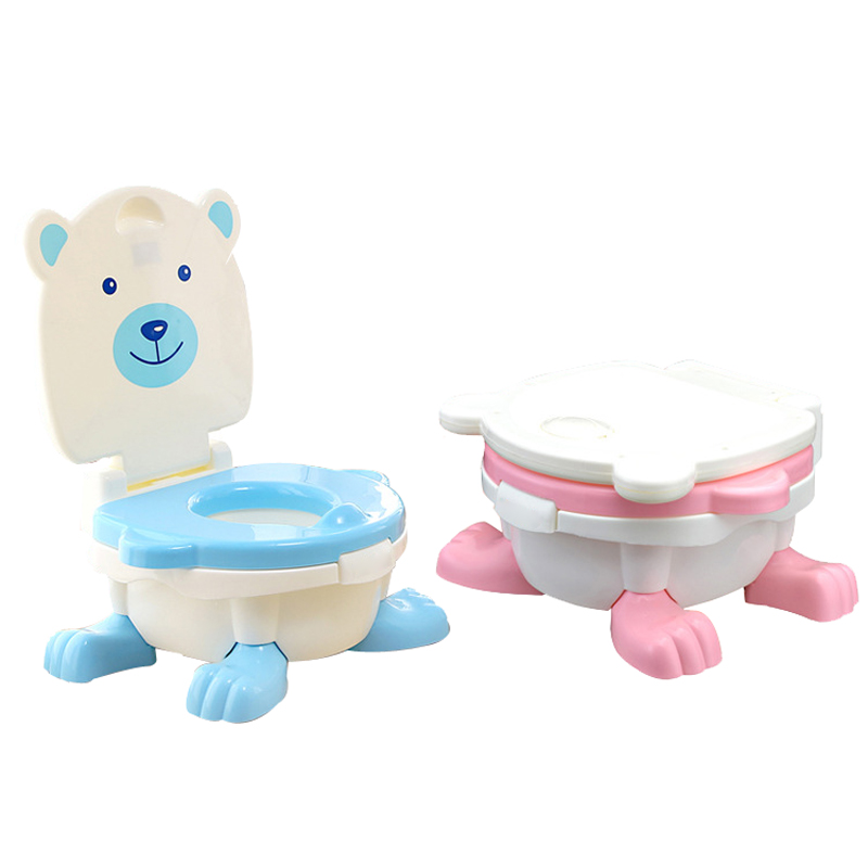 Portable Baby Potty Cartoon Musical Baby Toilet Car