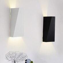 10W wall lamp LED light Aluminum bedroom Bedside indoor Living Room Hallway Morden lighting decoration lampada