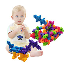 Building Blocks Toys DIY Assembly Classic Colorful Brick Early Education Learning