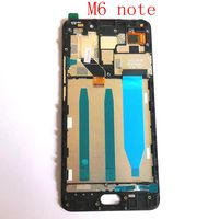 5.5 For Meizu M6 Note M721H M721Q M721M LCD Display+Touch Digitizer Screen+Frame Assembly Pantalla Replacement m6nite lcds