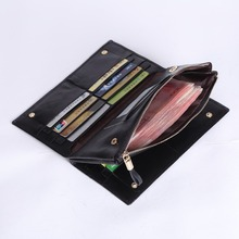 free shipping new fashion brand men's clutches male long wallet 100% genuine cowhide leather famous classic design in-kind shoot