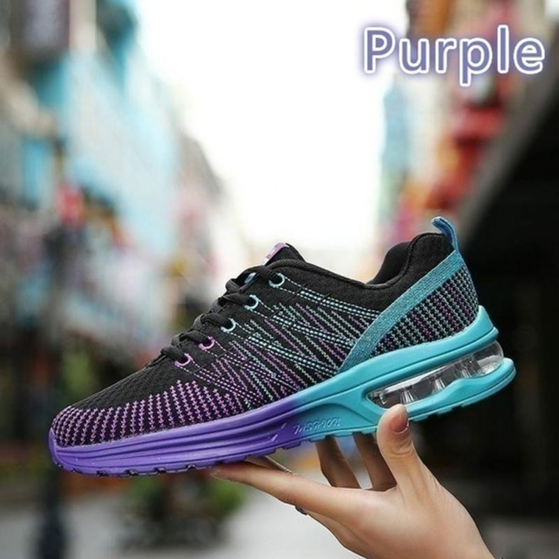 39ea2155f736 Air Cushion Sports Shoes Outdoor Fitness Cross Training Shoes Unisex Flats  Sneakers Men Running Hiking Sneaker-in Fitness   Cross-training Shoes from  Sports ...