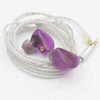 Original SENFER UES DIY In Ear Earphone Dynamic And BA Hybrid Earphone As UE900S HIFI Monitor