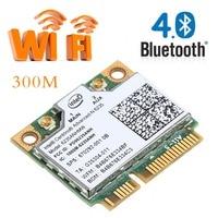Dual Band 2.4G/5G 300M 802.11a/b/g/n Wi-fi Sem Fio Bluetooth Metade mini PCI-E Card Para Intel Centrino Advanced N-6235 622ANHMW C26