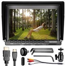 Neewer nw759 7 дюймов 1280×800 IPS Экран Камера поле Мониторы + 1 Mini HDMI bmpcc, аудио-видео кабель для FPV-системы/16:10/4:3 для Sony Canon Nikon