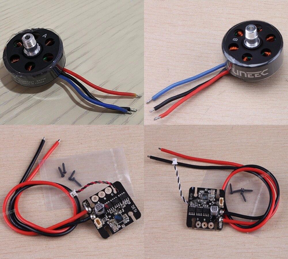 YUNEEC Q500 4 K RC Quadcopter ricambi Motore Brushless/ESC-in Componenti e accessori da Giocattoli e hobby su AliExpress - 11.11_Doppio 11Giorno dei single 1