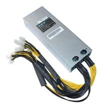 1600 Вт коммутации Питание Rig добыча Bitman фонте ATX горные машины источник для Antminer Asic S9 S7 L3 12 В 130A PC PSU