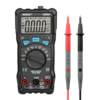 MESTEK DM90A high precision multimeter digital multimeter auto range tester multimetre better than DM90S multimeter multitester цена 2017
