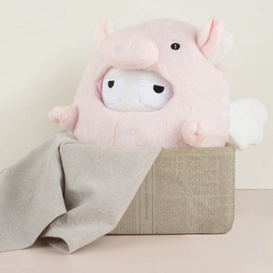 Image 2 - Xiaomi Mitu Rabbit Pig Doll / Classic Mitu Doll/ Wu kong Monkey PP Cotton Wool Cartoon Cute Toy Gift for Kids Child Girlfriend